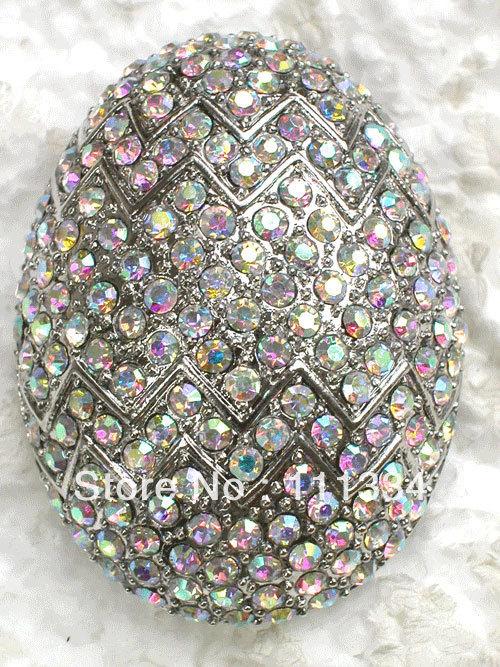 Rhinestone Easter Eggs Costume Brooch,easter Egg