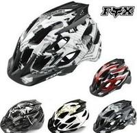 Fox fox flux mountain bike helmet ride one piece bicycle helmet
