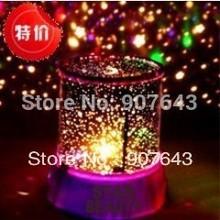 Free shipping Star Master Projectors Night Light Cosmos projector Stars Constellation Lamp Interactive Nightlight for Kids(China (Mainland))