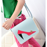 Gift gentlewomen women's handbag 2013 messenger bag high-heeled shoes sexy women's bag