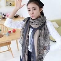 Ethnic bohemian retro fawn long scarf shawl scarves Korean version!FREE SHIPPING