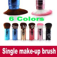 Single Make-Up Brush Blusher Brush Foundation Face Powder makeup make up brushes Set Cosmetic Brushes Kit Makeup Tools 6 colors