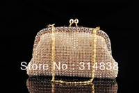 Hot new star temperament luxury handbag Czech Diamond Bags Evening Bags Clutch Evening Bag Party Bag sent free