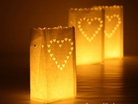 Wedding decoration diy handmade paper lantern holiday decoration candle bags candle bag candle