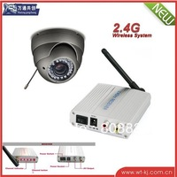 2.4ghz AV CMOS wireless camera +2.4G wireless receiver