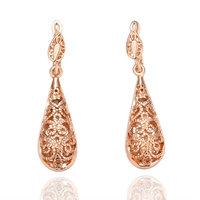 Christmas Sale18k gold drop earrings,Australian crystal,Nickle free antiallergic wholesale fashion jewelry earrings,GS18KRE016