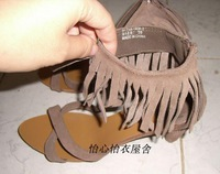 Tassel paragraph dwarf with fashion shoes