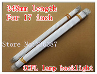 Free shipping 20pcs 17 inch 4:3 lcd screen LCD CCFL lamp backlight , CCFL backlight tube,348MM*2.4mm, 17 inch screen CCFL light