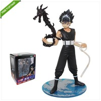 Free Shipping High Quality New ! Cool ! YU YU HAKUSHO Hiei 17cm 1/8 PVC Figure Brand New in Box