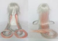 V vocaloid3 ia libraryia130cm tail gradient heat resistance cosplay costume wig free shipping