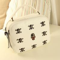 free shipping small bag casual woman bag  vintage skull rivet bag fashion handbag women's handbag bag