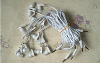 Free Shipping 3.5mm Earphones In-Ear Headphones Stereo Headset Fr Cellphone Mobilphone MP3 MP4