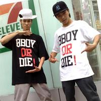 Berking hip-hop hiphop bboy hiphop hip-hop or die short-sleeve T-shirt men's clothing t-shirt costume