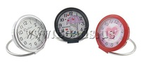 Free shipping!!!Table Watch Decoration,Cute Jewelry, Zinc Alloy, painting, 54x52x12mm, 10PCs/Lot, Sold By Lot