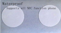 HK post Free shipping 2013 Latest NFC smarttag for e-wallet payment Mifare1K RFID Label Supports all NFC function phone