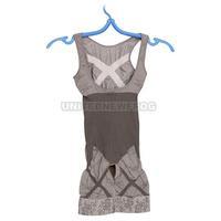 UN Comfortable Elastic Slimming Clothes Tummy Waist Slim Body Bamboo Charcoal Fiber Jumpsuit