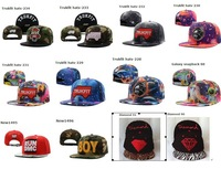 Wholesale Galaxy snapback Hat pink dolphin Shades snap back hatsTrukfit Cap Basketball Diamond caps Flowers Mix Order
