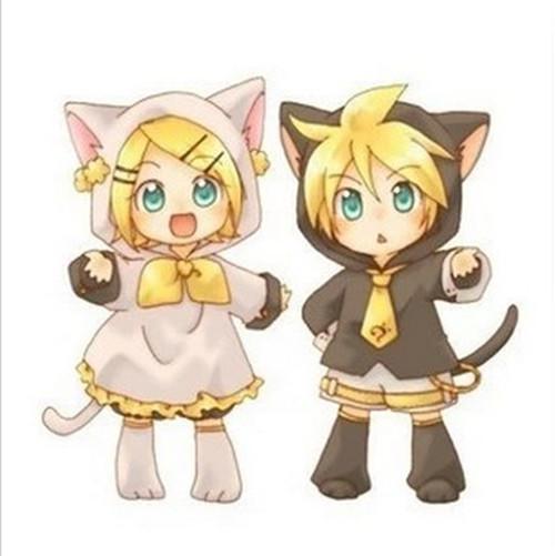 Cat Cosplay Anime Anime Cat Style Hoodie