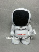"RARE Japan Honda Asimo Robot Mini Key Chain Cloth Doll 4"" 10cm"