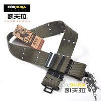 Free shipping Free shipping Kevlar pitfall hasp belt multiporous tactical belt outside belt