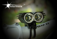 Solarstorm X2 front bike lights 1500 lums 2*U2 LED super long runtime outdoor mini bike light/wholesale bicycle light