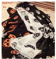Wholesale 2013 Skull Scarves 16 Designs Mixed to Choose Spring Autumn Shawl Chiffon Scarf for Women 20pcs/lot free shipping