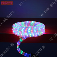 Optical flat three wire led strip multicolour beads 48 lamp  Free shipping