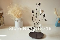 Candle Holder , made of wrought iron for Home Decoration,free shipping