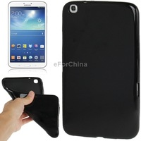 Pure Color Smooth Surface TPU Case For Samsung Galaxy Tab 3 (8.0) / T311 / T310, Black