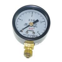 M10*1 40mm Dia 0-4.0Mpa Water Oil Hydraulic Air Pressure Gauge Universal Gauge