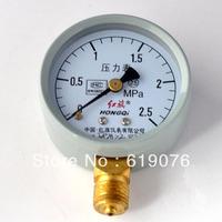 Water Oil Hydraulic Air Pressure Gauge Universal Gauge M14*1.5 0-0.16/2.5Mpa