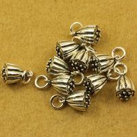 Vintage thai silver accessories diy 925 pure silver jewelry lotus pendant hanging hangings bracelets SMA57