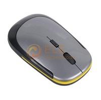 1200 DPI Ultra Thin Wireless Mouse 2.4G USB 2.0 Optical Slim Mice 2.4G Receiver for Laptop PC Desktop DPI 3 Modes Adjustable