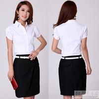 summer work wear women's skirt fashion ol work wear set formal work wear