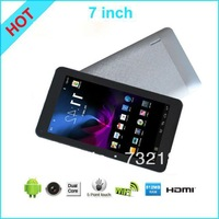 "FREE SHIPPING 7"" VIA 8880 Update Cortex-A9 512M RAM 4G ROM Dual Camera Tablet PC Android 4.2 OS HDMI Dual Core 1.5GHz SMART"