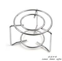 Mini gas stove shelf mocha coffee pot shelf heated furnace rack Moka supporting apparatus stainless stove oven rack