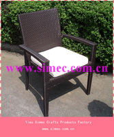 outdoor leisure stackable wicker rattan chairs SCRC-003
