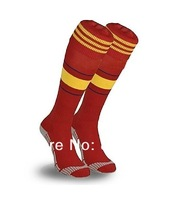 2013-14 Sealed New Spain Home Soccer Socks Football Stockings Mens Large 7-8 1/2 Free & fast shipping