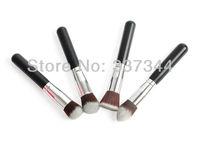 High Quality 4 PCS Black Powder Blush Brush Set Makeup TOOL Foundation Brushes Flat+Round+Angled+Pointy Make Up Free Shipping