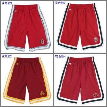 Free shipping Colosseum athleti ncaa basketball shorts quick-drying sports shorts