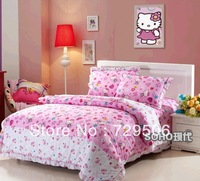2013 Princess Applique lace bedding 100%cotton twill bedding sets/duvet cover/sheet bedspread pillowcase Free Shipping