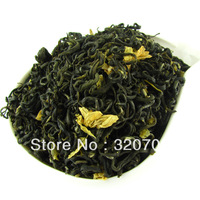 Sichuan Jasmine fuzz tip Tea T039 Cold Pool and Snow Flower Jasmine Green Tea