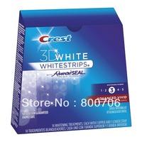 New  CREST Whitestrips 3D Advanced Vivid  28 Strips