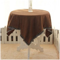 Round table cloth modern brief dining table cloth fabric table runner conference table cloth 7 customize