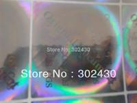 Round Silver Tamper Evident Void Hologram Warranty Stickers , order for 2500pcs silver globe hologram sticker