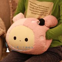 Rabbit hand warmer hand pillow muff hand pillow cushion nap pillow