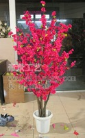 Artificial plants artificial tree 1 meters 4 peach tree cherry tree - - - decoration
