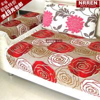 Nrren peony sofa cushion sofa set sofa towel cover slip-resistant