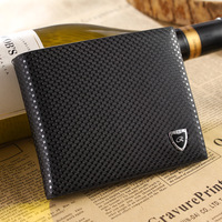 Free Shipping ( 1piece) Fashion Luxury Genuine Leather Wallet for Men ,Short Design Casual Cowhide Men's Wallet 2013New