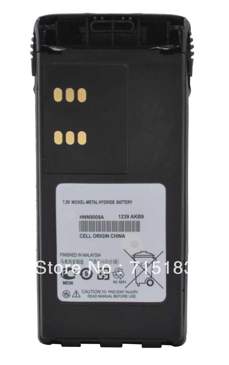 Walkie talkie battery 1800mAh DC7.2V HNN9009A NICKEL-METAL HYDRIE Battery for Motorola GP340 GP380 GP328 HT750 HT1250 radio(China (Mainland))